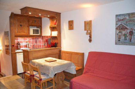 Location au ski Studio duplex 4 personnes (214) - Résidence Côte Brune - Les Menuires - Plan