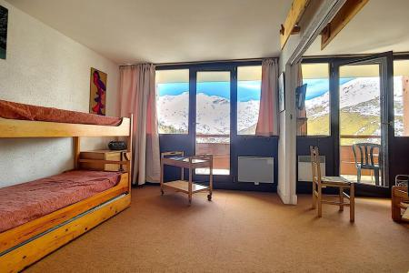 Rent in ski resort 2 room apartment 5 people (AL0703) - Résidence des Alpages - Les Menuires - Dining area