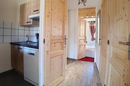 Rent in ski resort 2 room apartment 5 people (330) - Résidence des Origanes - Les Menuires - Kitchenette