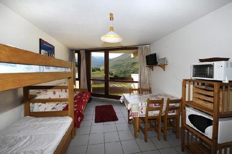 Location au ski Studio 3 personnes (0609) - Residence Grande Masse - Les Menuires - Lits superposés