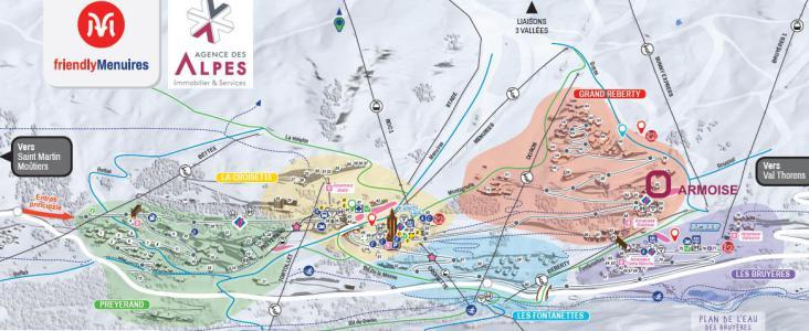Location au ski Résidence l'Armoise - Les Menuires