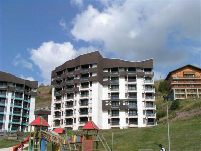 Location au ski Résidence l'Armoise - Les Menuires - Plan