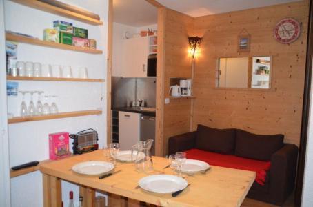 Location au ski Studio 3 personnes (70) - Residence L'armoise - Les Menuires - Coin repas