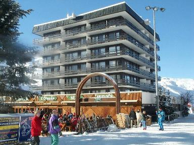 Location au ski Residence L'oisans - Les Menuires - Extérieur hiver