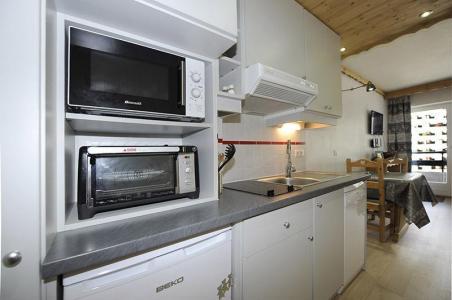 Location au ski Studio 2 personnes (056) - Residence L'oisans - Les Menuires - Kitchenette