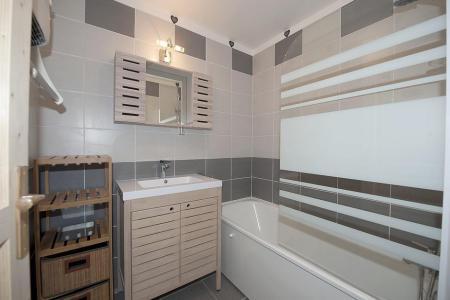 Rent in ski resort 3 room apartment 8 people (4344) - Résidence la Biellaz - Les Menuires - Bath-tub