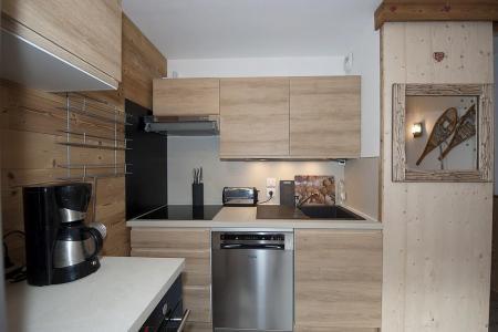 Rent in ski resort 3 room apartment 8 people (4344) - Résidence la Biellaz - Les Menuires - Kitchenette