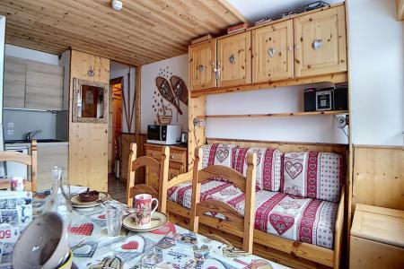 Rent in ski resort 3 room apartment 8 people (4344) - Résidence la Biellaz - Les Menuires - Living room