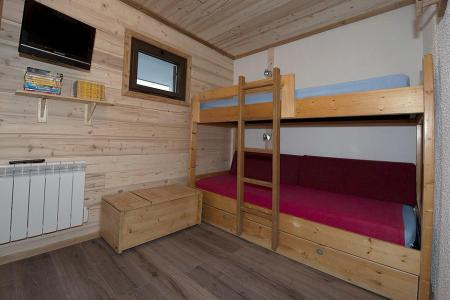 Rent in ski resort 3 room apartment 8 people (4344) - Résidence la Biellaz - Les Menuires - Seat bed- pull out bed