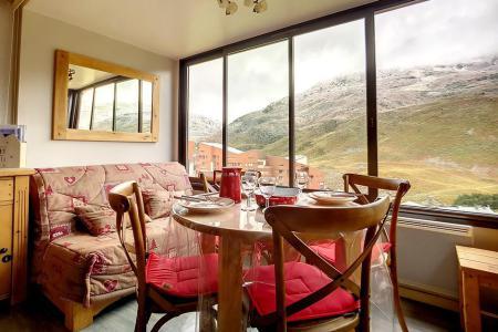 Rent in ski resort Studio sleeping corner 4 people (54) - Résidence la Biellaz - Les Menuires