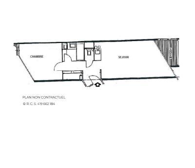 Location au ski Appartement 2 pièces 5 personnes (607) - Résidence la Grande Masse - Les Menuires - Douche