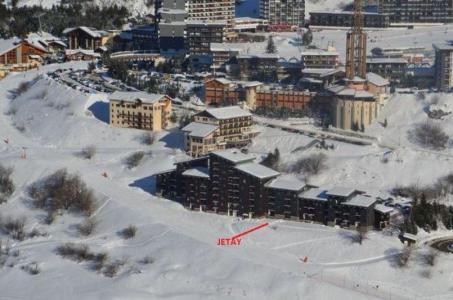 Location au ski Résidence le Jettay - Les Menuires - Extérieur hiver