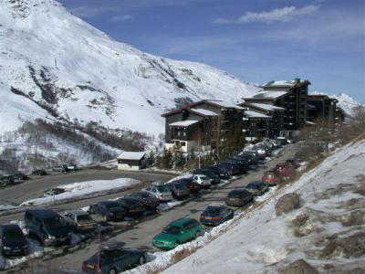 Vacances en montagne Résidence le Jettay - Les Menuires - Extérieur hiver