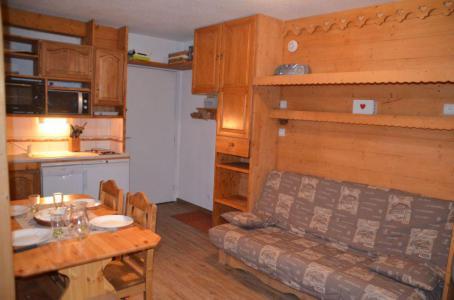 Location au ski Appartement 1 pièces 4 personnes (B77) - Résidence le Jettay - Les Menuires - Séjour