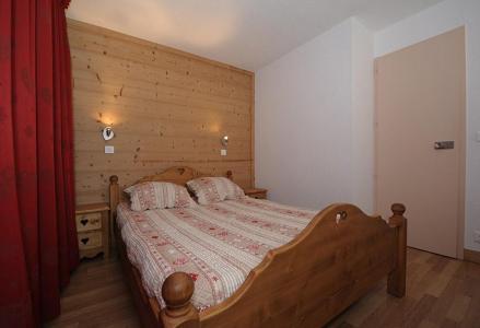 Rent in ski resort 2 room apartment 5 people (LC0112) - Résidence le Lac du Lou - Les Menuires - Double bed