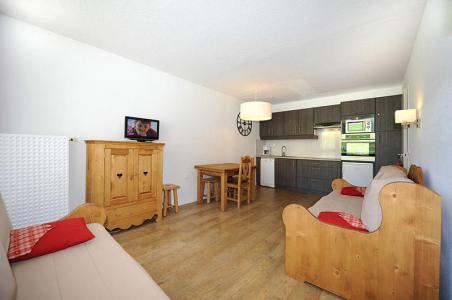 Rent in ski resort 2 room apartment 6 people (LC0006) - Résidence le Lac du Lou - Les Menuires