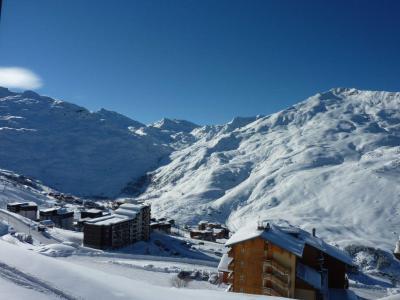 Vacances en montagne Studio 4 personnes (718) - Résidence le Nécou - Les Menuires - Extérieur hiver