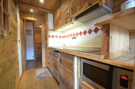 Location au ski Studio 4 personnes (718) - Résidence le Nécou - Les Menuires - Cuisine