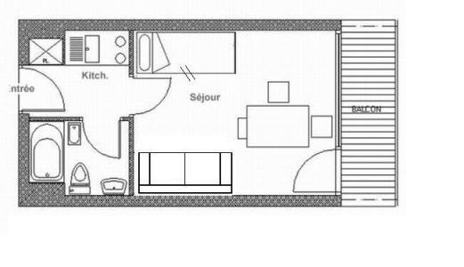 Ski apartment rental Résidence le Pelvoux