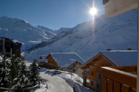 Location au ski Studio coin montagne 4 personnes (2508) - Residence Le Ski Soleil - Les Menuires - Extérieur hiver