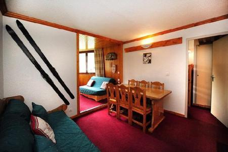 Location au ski Appartement 2 pièces cabine 6 personnes (211) - Residence Le Sorbier - Les Menuires - Séjour