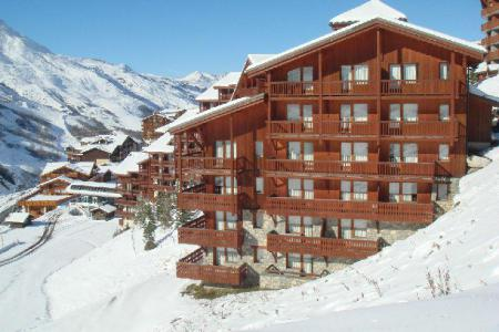Location au ski Résidence le Valmont - Les Menuires - Extérieur hiver