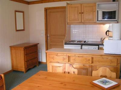Location au ski Appartement 2 pièces 4 personnes (1011) - Residence Le Valmont - Les Menuires - Kitchenette