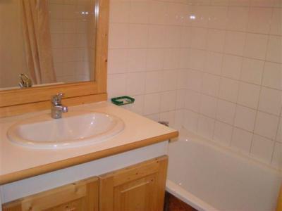 Location au ski Appartement 2 pièces 4 personnes (1011) - Residence Le Valmont - Les Menuires - Lavabo