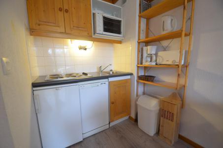 Location au ski Appartement 2 pièces 4 personnes (506) - Résidence le Valmont - Les Menuires - Cuisine