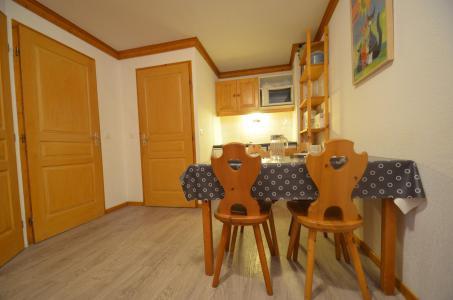 Location au ski Appartement 2 pièces 4 personnes (506) - Résidence le Valmont - Les Menuires - Table