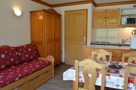 Location au ski Studio cabine 4 personnes (403) - Résidence le Valmont - Les Menuires - Séjour