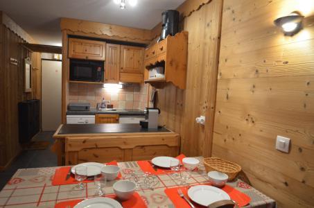 Location au ski Studio cabine 4 personnes (VP520) - Résidence le Villaret - Les Menuires