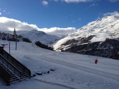 Location au ski Studio cabine 4 personnes (114) - Résidence le Villaret - Les Menuires