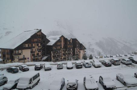 Location au ski Studio 2 cabines 4 personnes (205) - Résidence le Villaret - Les Menuires - Extérieur hiver