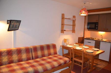 Location au ski Studio cabine 4 personnes (508) - Résidence le Villaret - Les Menuires - Appartement