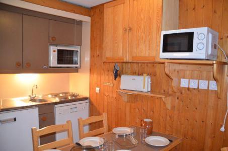 Location au ski Studio cabine 4 personnes (712) - Résidence le Villaret - Les Menuires - Cuisine