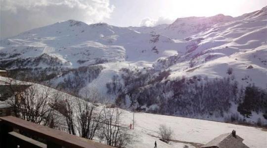 Location au ski Appartement 2 pièces cabine 5 personnes (107) - Résidence les Balcons d'Olympie - Les Menuires - Extérieur hiver