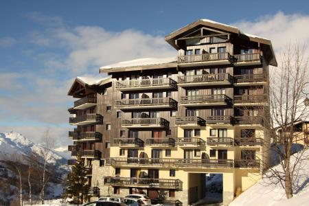 Vacances en montagne Résidence les Balcons d'Olympie - Les Menuires - Extérieur hiver