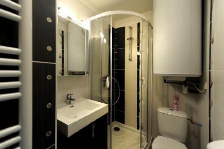 Location au ski Appartement 2 pièces cabine 5 personnes (107) - Résidence les Balcons d'Olympie - Les Menuires - Salle de bains