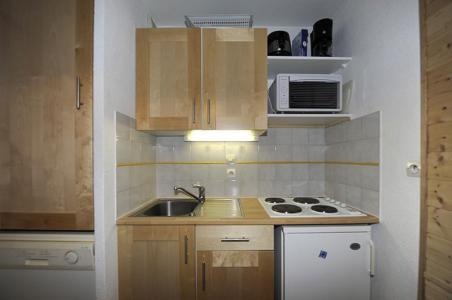 Location au ski Appartement 2 pièces cabine 6 personnes (535) - Residence Les Balcons D'olympie - Les Menuires - Kitchenette