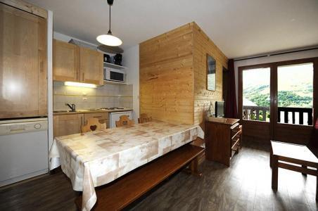 Location au ski Appartement 2 pièces cabine 6 personnes (535) - Résidence les Balcons d'Olympie - Les Menuires - Séjour