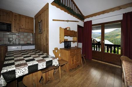 Location au ski Appartement 2 pièces cabine mezzanine 8 personnes (640) - Residence Les Balcons D'olympie - Les Menuires - Séjour