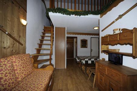 Location au ski Appartement 2 pièces cabine mezzanine 8 personnes (640) - Résidence les Balcons d'Olympie - Les Menuires - Séjour