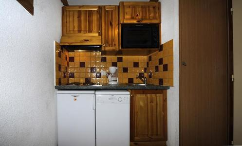 Location au ski Appartement 2 pièces mezzanine 8 personnes (639) - Résidence les Balcons d'Olympie - Les Menuires - Kitchenette