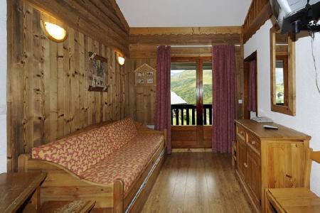 Location au ski Appartement 2 pièces mezzanine 8 personnes (639) - Residence Les Balcons D'olympie - Les Menuires - Séjour