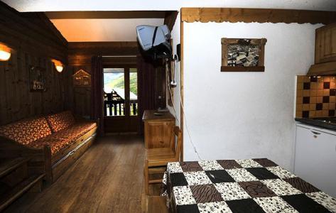 Location au ski Appartement 2 pièces mezzanine 8 personnes (639) - Résidence les Balcons d'Olympie - Les Menuires - Séjour
