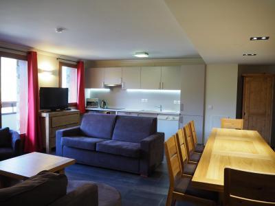 Location au ski Appartement 5 pièces 10 personnes (21) - Residence Les Cristaux - Les Menuires - Coin repas