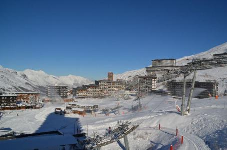 Location au ski Studio 2 personnes (106) - Résidence les Dorons - Les Menuires - Salle de bains