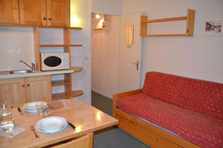 Location au ski Studio 2 personnes (702) - Residence Les Dorons - Les Menuires - Séjour