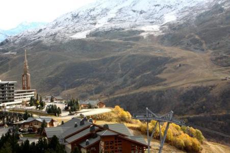 Location au ski Appartement duplex 3 pièces 8 personnes (D1) - Résidence les Lauzes - Les Menuires - Extérieur hiver